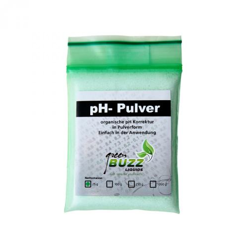 BUZZ Liquids ph-Pulver 25g