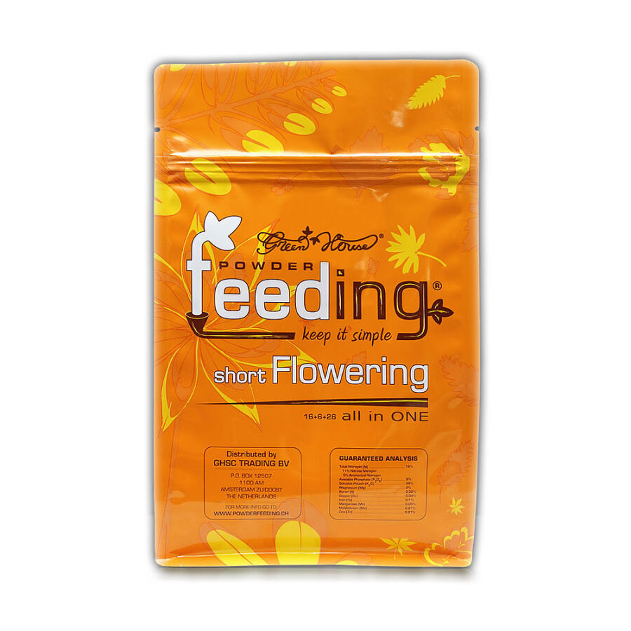 Powder Feeding short flowering