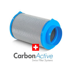 Carbon Active Granulate Filter 125mm 300m³/h