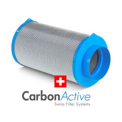 Carbon Active Granulate Filter 125mm 400m³/h